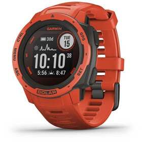 Garmin Instinct Solar GPS Smartwatch, red